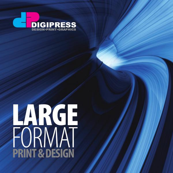 Digipress Brochure Digipress Large Format Brochure