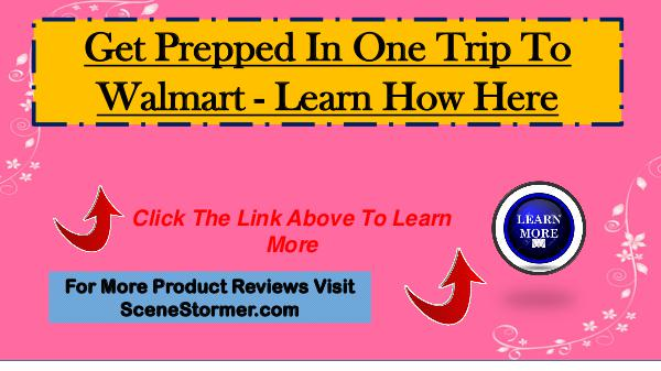 Get Prepped In One Trip To Walmart - Survive Any Crisis Get Prepped In One Trip To Walmart