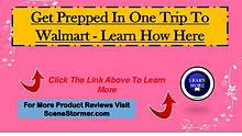 Get Prepped In One Trip To Walmart - Survive Any Crisis