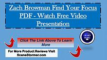 Zach Browman Find Your Focus PDF - Learn More