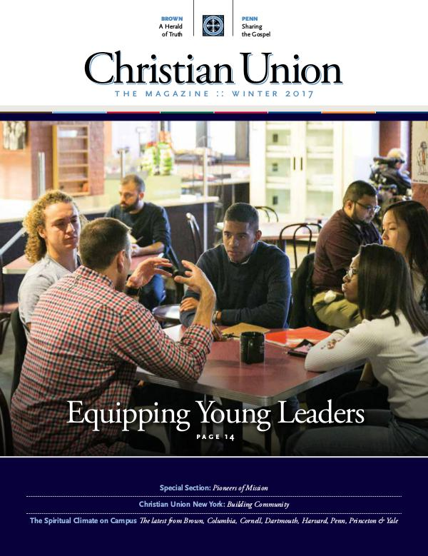 Christian Union: The Magazine Winter 2017