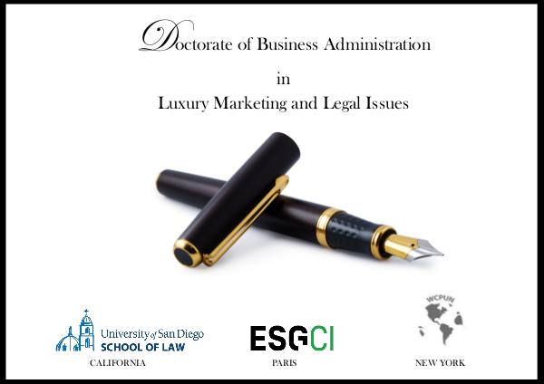 Doctorate of Business Administration in Luxury DBA