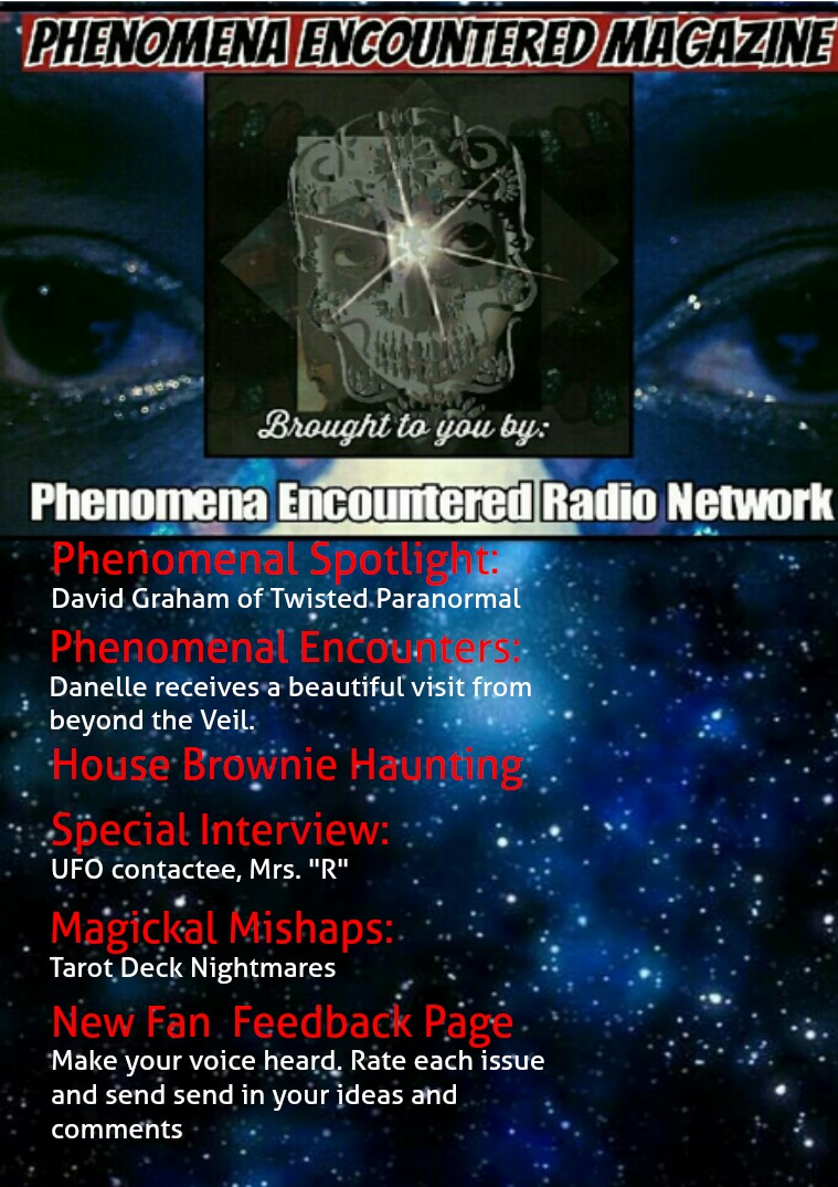 Phenomena Encountered: The Magazine Issue 3