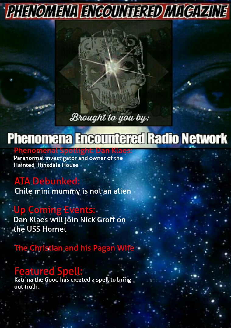 Phenomena Encountered: The Magazine Issue 4