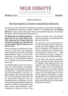 Neue Debatte - Beiheft #006 - 04/2017