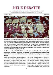 Mumifiziert – Die konservativen Linken in Deutschland