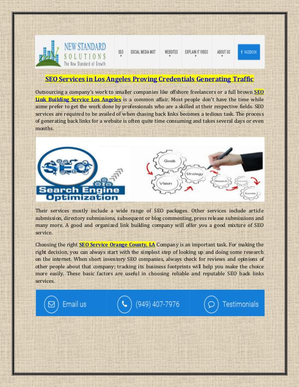 Web Design and SEO Service SEO Services in Los Angeles Proving Credentials Ge