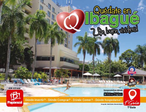 Revista Paparazzi Edicion 72 Quédate en Ibagué - 2017