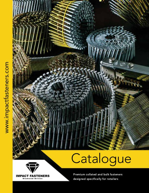 Impact Fasteners Catalogue Impact Fasteners Catalogue