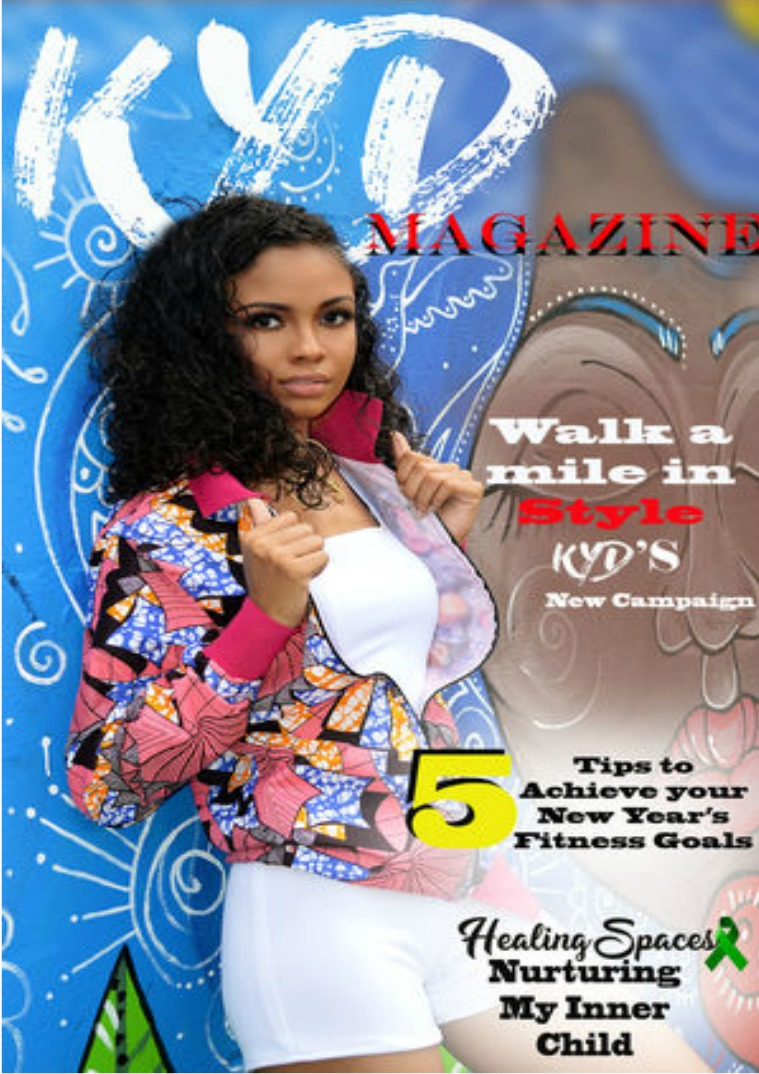 Kerby Young Designs Magazine KYD Magazine January Issue