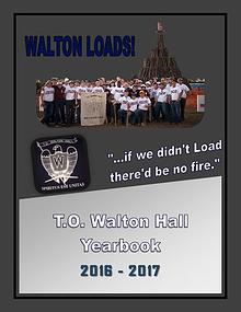T.O. Walton Hall Yearbook 2017