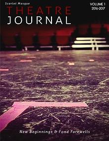 Scarlet Masque Theatre Journal