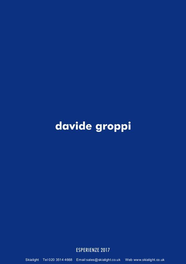 Architectural Lighting & Office Lighting Designer London Davide Groppi, Architectural Light Fittings Catalo