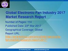 Research and Market-Electronic Fan Market Outlook 2017-2022