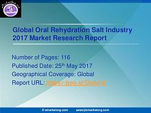 Oral Rehydration Salt Industry – Global Market Status with Regional O
