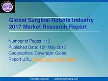 Surgical Robots market research for 2017 illuminated by new report