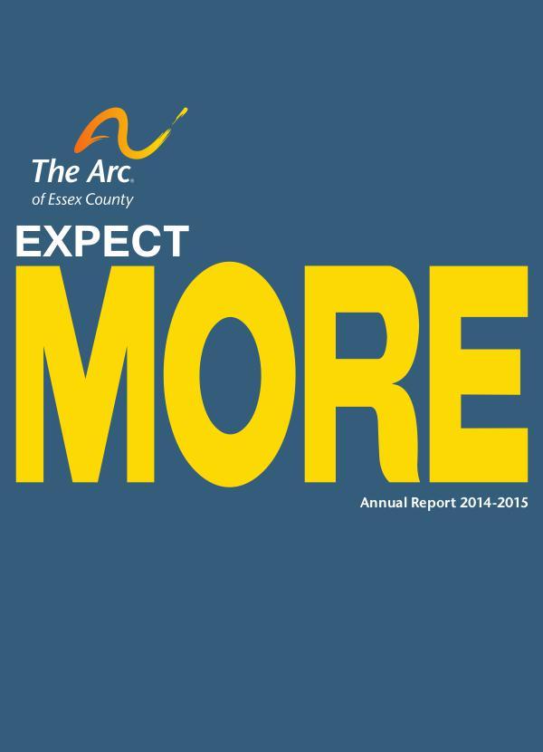2014-2015 Annual Report 2014-2015 Annual Report