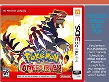 Pokemon Omega Ruby GBA