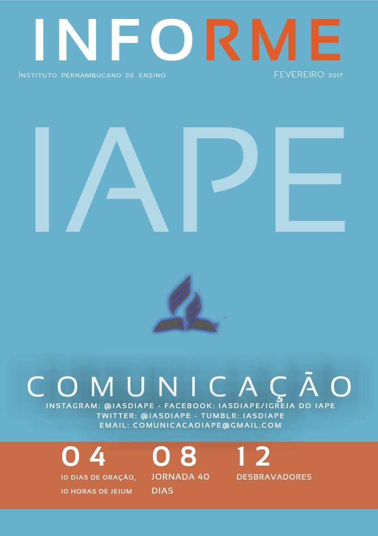 Informe IAPE IASD
