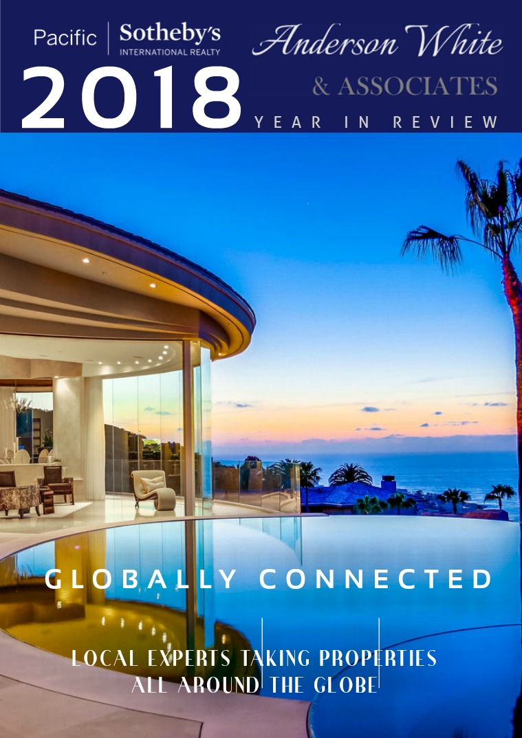 2018 - Anderson White & Associates Year In Review 2018 YEAR IN REVIEW