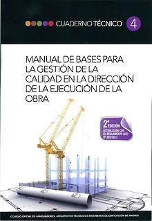 CT04 - Gestión de la calidad en dirección de la ejecución de la obra