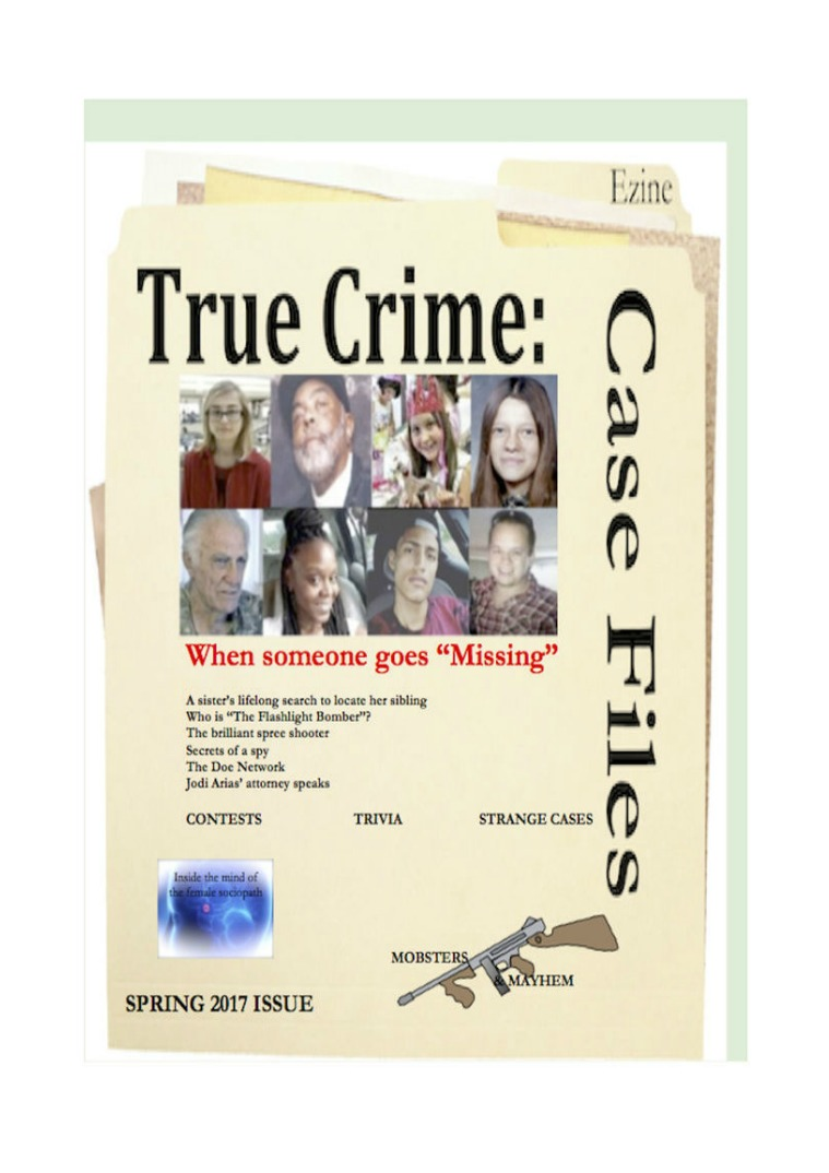 True Crime: Case Files Spring 2017 Spring 2017