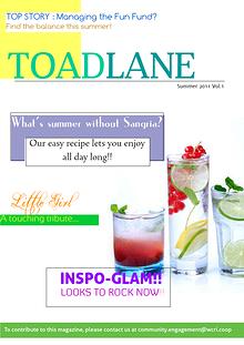 Toadlane- Magazine 1