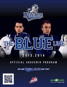The Blue Line - Victoria Royals Game Program