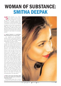 Smitha Deepak's coverage in Opinion Express July 2013