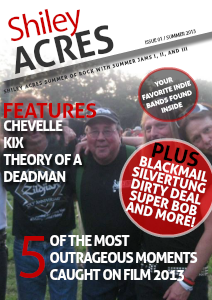 Shiley Acres Summer of Rock 2013 PREVIEW EDITION ONLY