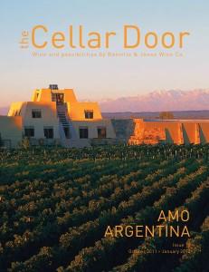 The Cellar Door Issue 10. Amo Argentina.