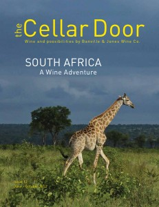 The Cellar Door Issue 12. South Africa - A Wine Adventure.