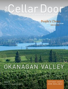 The Cellar Door Issue 15. Okanagan Valley.