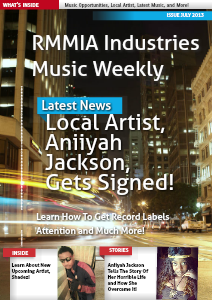 RMMIA Industries Music Weekly July 2013