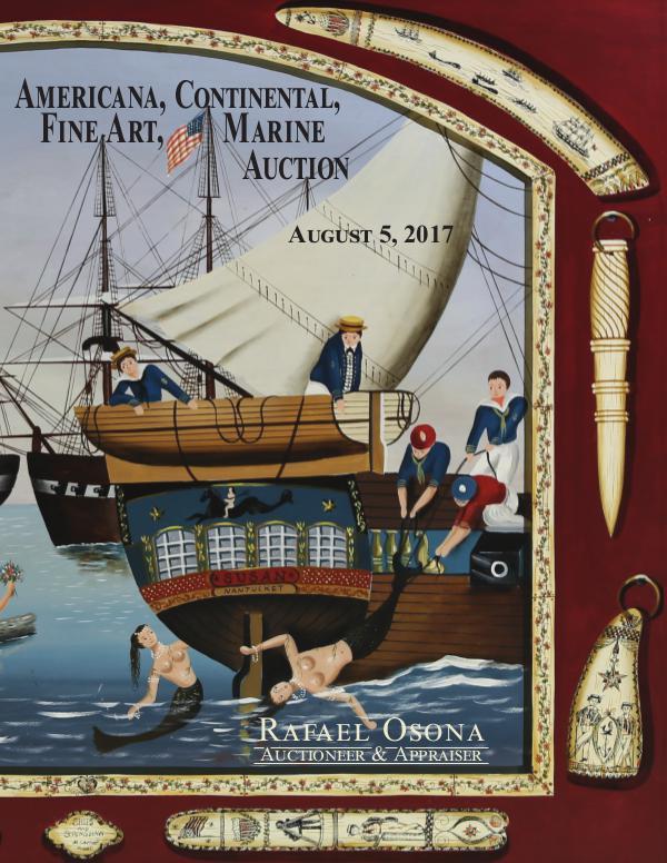 Rafael Osona's Annual Auction Catalog 2017 Rafael Osona Annual Auction 2017