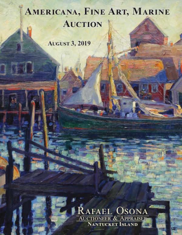 Rafael Osona's Annual Auction Catalog 2019 Rafael Osona Annual Catalog 2019