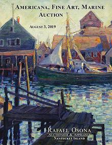 Rafael Osona's Annual Auction Catalog 2019