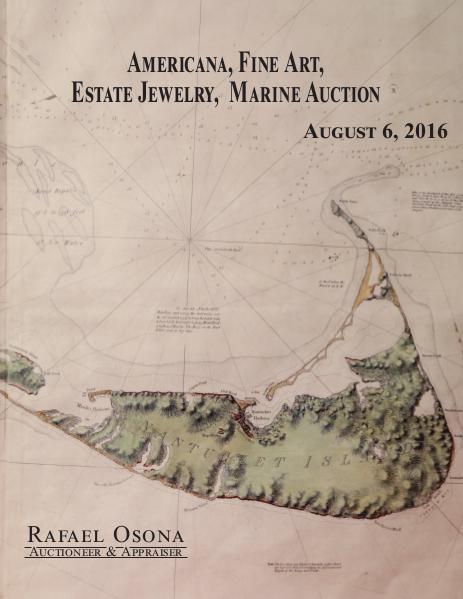 Rafael Osona's Annual Auction Catalog 2017 2016