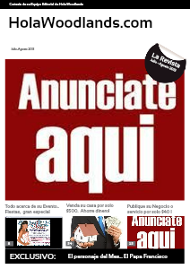 "HolaWoodlands.com  "" La Revista"" July- Aug 2013"
