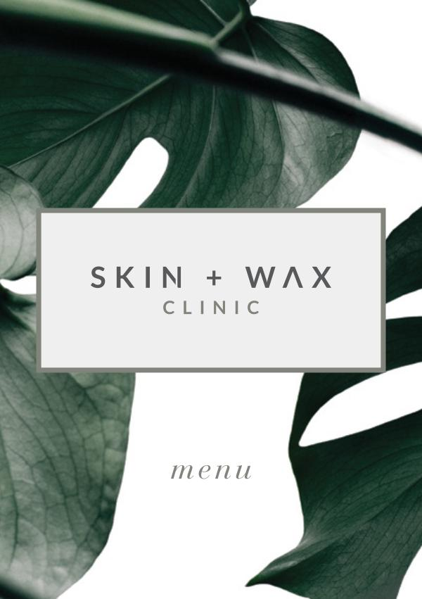 Skin + Wax Clinic Skin + Wax Clinic Tretment Menu_Online