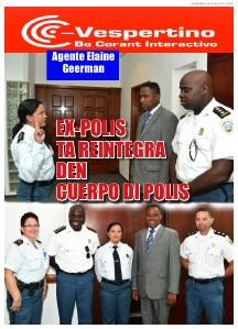 E-Vespertino Edicion 16 di Augustus 2013