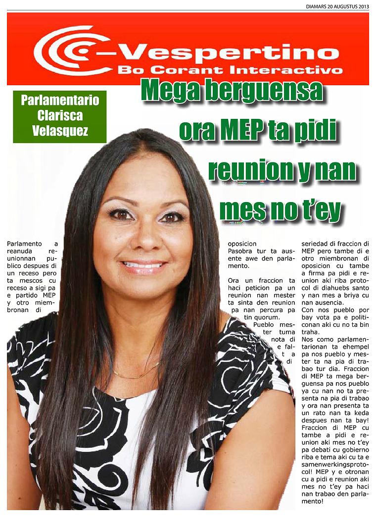 Edicion 20 di Augustus 2013