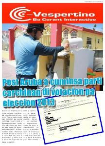 Edicion 22 di Augustus 2013