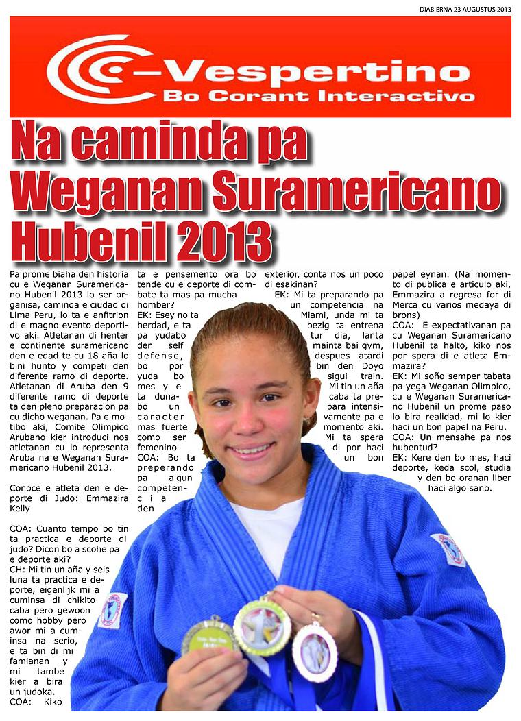 E-Vespertino Edicion 23 di Augustus 2013