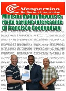 E-Vespertino Edicion 29 di Augustus 2013