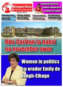 Edicion 5 di September 2013