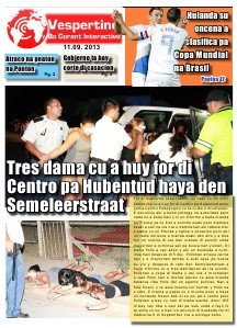 Edicion 11 di September 2013