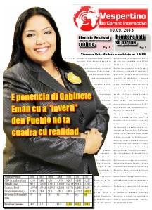 Edicion 10 di September 2013