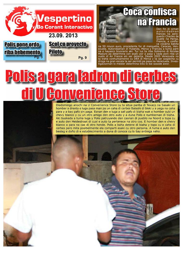 Edicion 23 di September 2013