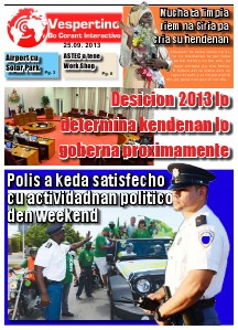 Edicion 25 di September 2013